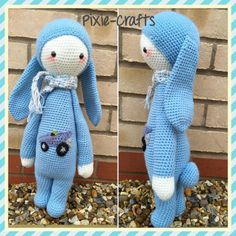 Pixie-Crafts • Today's completed make is a custom large bunny...