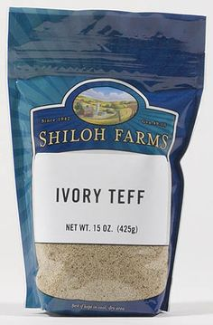 Shiloh Farms Online Marketplace - Teff Grain, Ivory, $5.52 (http://www.shilohfarms.com/products/Teff-Grain,-Ivory.html)