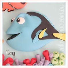 Dory Cake Topper