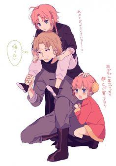 Gintama, Kamui, Kagura, Abuto