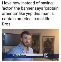 Chisel Evans IS Captain America