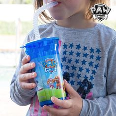 PAW Patrol Cup with Straw
