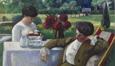 Henri Manguin. Le Thé à la Flora, 1912