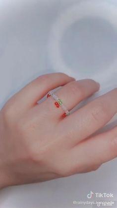 Diy Jewelry Unique, Handmade Wire Jewelry, Diy Crafts Jewelry, Seed Bead Jewelry, Bead Jewellery, Beaded Jewelry, Diy Bracelets Patterns, Diy Bracelets Easy, Wire Jewelry Designs