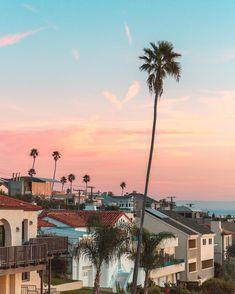 Amazing view of Los Angeles, California. California Sunset, California Dreamin', Venice Beach, San Diego, Beaches In The World, Wanderlust, Island Life, Santa Monica, Monuments