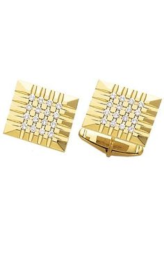 14K Yellow Gold Magnificent Cufflinks with .83 ct. Diamonds-89003 $1,999.00 (50% OFF)