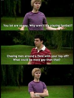 The Inbetweeners ❤️ Uk Tv Shows, Best Tv Shows, Favorite Tv Shows, British Humor, British Comedy, Inbetweeners Quotes, Funny Memes, Hilarious, Tv Memes