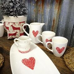 #therubyorchard Save Instagram Photos, Ranges, Kitchenware, Ceramics, Mugs, Free, Ceramica, Pottery, Tumblers