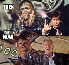 Who's excited to see Han Solo & Chewbacca together again? #StarWars