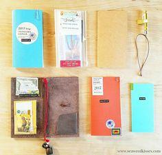 Traveler's Notebook Daily Planner Setup (2017)