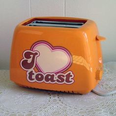 Orange toaster from Ruth66