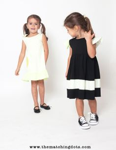 The Matching Dots. 2 KIDS FED FOR EVERY ITEM SOLD. #madeinusa #dotted #kids #fashion #be #spotted #cool #stylish #girls #dresses #summer