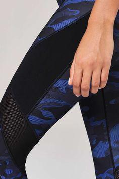 Camo Mesh Panel Legging by Ivy Park - Topshop Europe