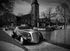 2001 Rolls Royce Jonckheere Aerodynamic Coupe II Concept (basado en el Rolls Royce Phantom I Jonckheere Aerodynamic Coupe one-off de 1935)