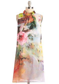 Centerpiece and Quiet Dress   Mod Retro Vintage Dresses   ModCloth.com