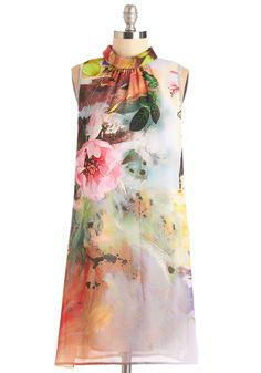 stunning floral dress