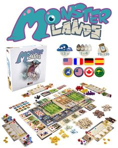 MONSTER LANDS – a strategic dice placement game by Second Gate Games — Kickstarter