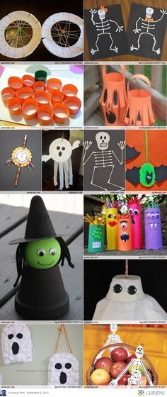 so cool halloween crafts for kids - Halloween Simple Crafts