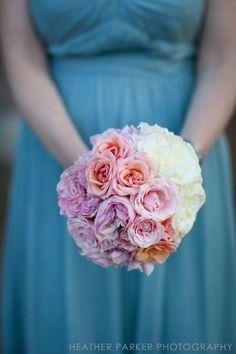 Bruidsboeket pastel | Leo door Bloemen