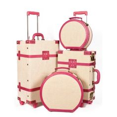 The Editor Series - Vintage SteamLine Luggage... I NEED THIS LUGGAGE SET in my life!!!!