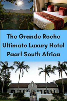 See what it's like to step back in time at the Grande Roche Hotel in Paarl South Africa where history and modernity collide in the best of ways.   Cape Winelands   Luxury Hotel   Boutique Hotel  