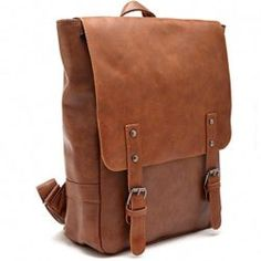 440941e040 Zebella Pu Crazy Horse Leather-Like Vintage Women s Backpack School Bag  School Bags
