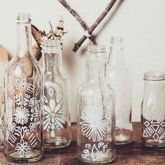 Süße DIY Vasen