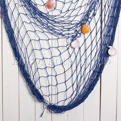 Decorative-Nautical-Fishing-Net-Seaside-Wall-Beach-Party-Sea-Shells-Decoration