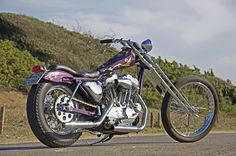 Motofficina Marinelli Iron 883, Harley Davidson Chopper, Digger, Bobbers, Choppers, Cool Bikes, Motorcycle, Gallery, Style