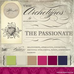 The Passionate Archetype | Melissa Bolton, Ink.