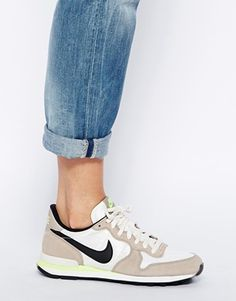 the latest a598a f858a Enlarge Nike Internationalist Grey Black Trainers Nike Internationalist,  Baskets Gazelle, Sneakers 2016,