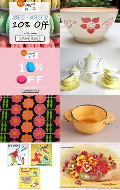 ➽ French Summer Sale >>> 10% off  by Françoise on Etsy--Pinned with TreasuryPin.com