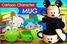 Fun Way to Quench Your Thirst with Cartoon Character Mug (Available in 4 Choices) for Rp47.000 instead of Rp100.000! Get it now at www.MetroDeal.co.id!
