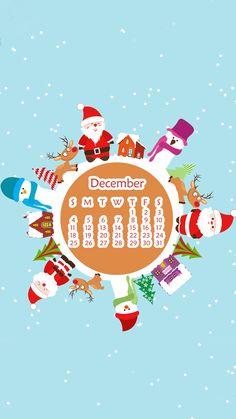 December Calendar, 2016 Calendar, Calendar Wallpaper, Phone Wallpapers, Itunes, Girly, Apple, Poster, Art