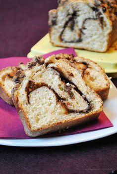 Food to Go: Hefekuchen mit Schokofüllung