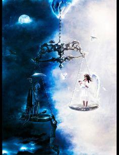 Fantasy: Scale of Life - 2D Digital, Concept art, Fantasy, PhotoshopCoolvibe – Digital Art