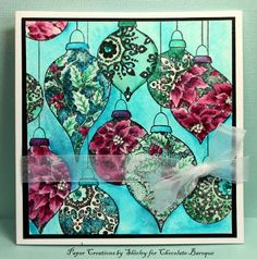 Paper Creations by Shirley: Christmas Baubles
