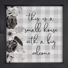 Uniquely crafted, this sign features a soft, textured backing overlaid with elegant design and sentiment. The texture adds depth and light shadowing. Deep frames allow for wall hanging or tabletop display. Size is 11 x 11 Color: GREY. Theme Words, Wall Decor Quotes, Wood Wall Art, Wall Décor, Table Top Display, Black And White Design, Laser Engraving, Words Quotes, Overlays