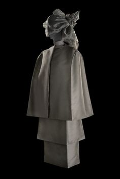 Design is fine. History is mine. — Roberto Capucci, Linea a scatola / box line, 1958....