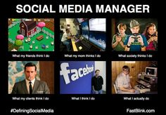 What is doing Social Media Manager? #socialmedia #marketing #manager