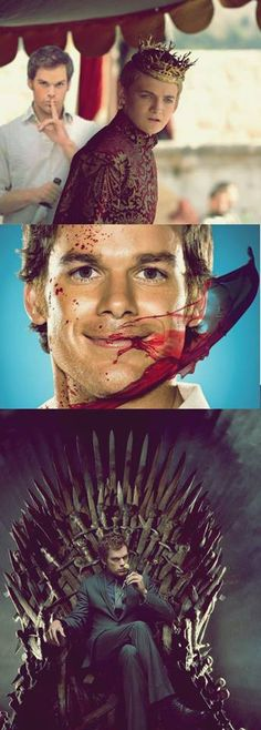 Dexter and Joffrey ~ Game of Thrones Mashup LOL