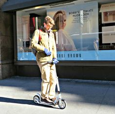 Big scooter, New York City. March 22, 2016.
