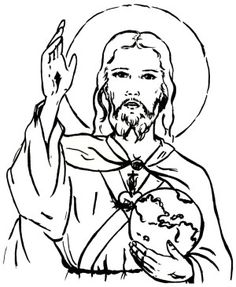 Dibujos para colorear  Coloring Pages  Pinterest  Catechism and