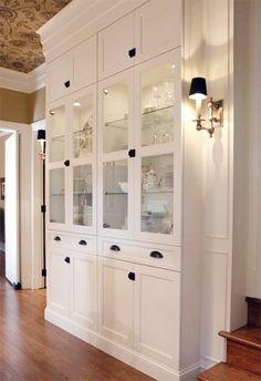 homegirl :: Ashley Minnings, interior decorator + eDesigner, Orillia Ontario: ikea hacks: billy bookcase built-ins