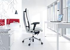 nowoczesny fotel gabinetowy - bardzo elegancki