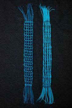 Weaving projects 42 and 43. Made for W2W2