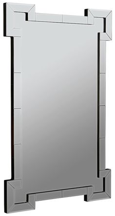 Signa Large Layered Frameless Mirror | 24 x 38 inches