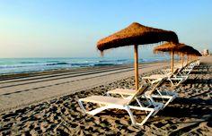 Playa del Carrer la Mar. El Campello. Spain
