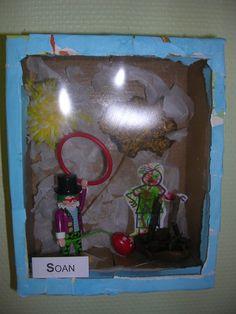 Cabinets de curiosités chez Sabrina - école petite section