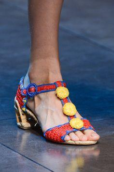 Dolce & Gabbana Spring 2013 Ready-to-Wear Fashion Show Details Dolce & Gabbana, High Heels Stilettos, Peep Toe Pumps, Plastic Shoes, Holiday Wardrobe, Embellished Shoes, Old Shoes, Crochet Shoes, Crochet Slippers